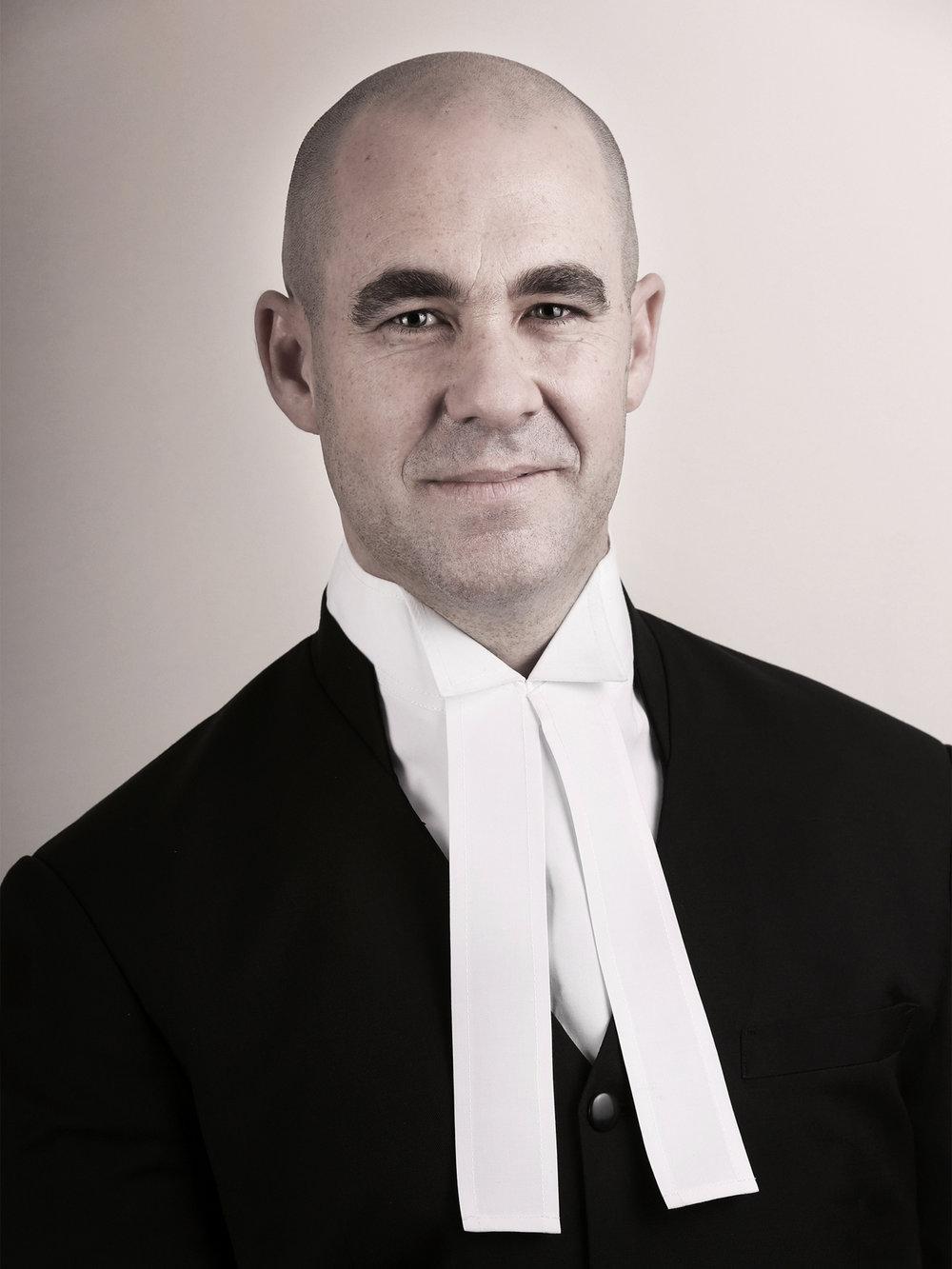 Jack Tyler-Stott, client - Elizabeth St Chambers