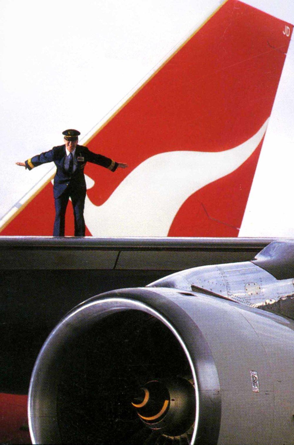 Qantas 747 captain
