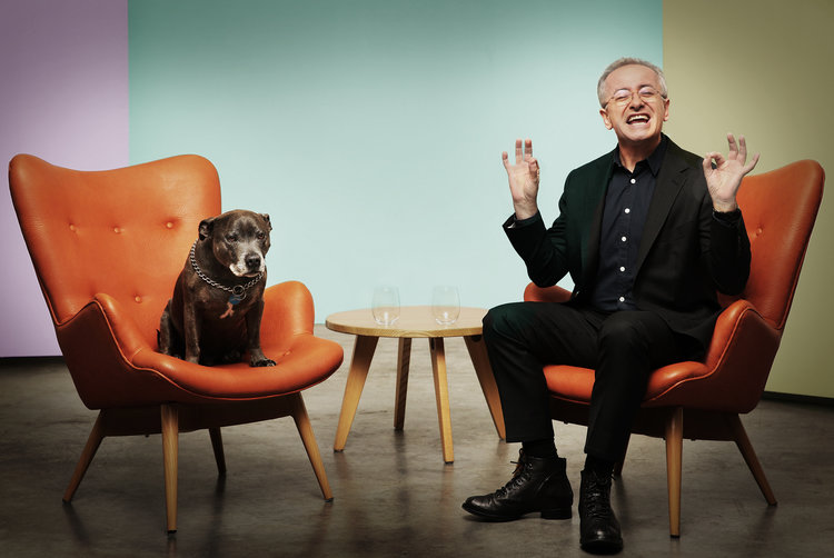 Andrew Denton (and 'Boss')