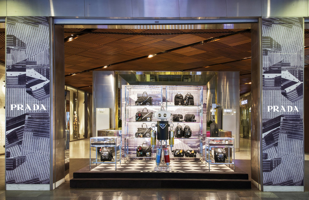 Prada 'Robot' pop-up store