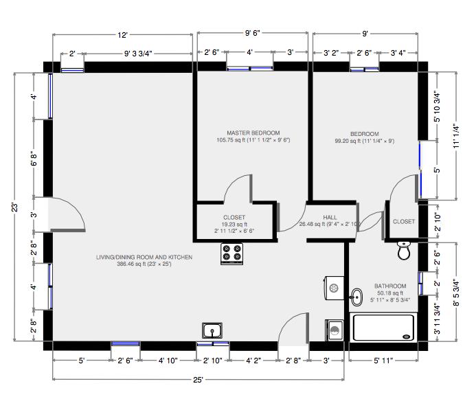120 Grandview Floor Plan