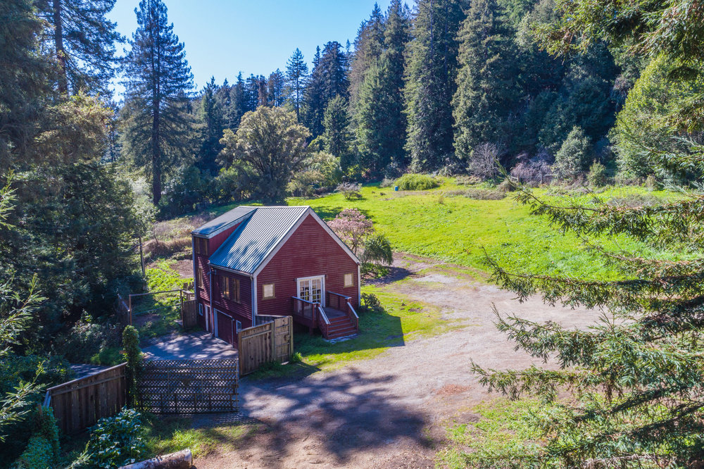 1 Bedroom 1 Bathroom Cottage on 6+ Acre Lot Near Aptos Minutes F