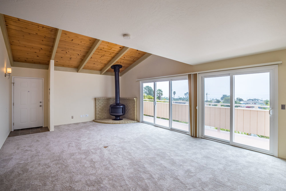 Open Floor Plan with Vaulted Ceilings Santa Cruz Real Estate