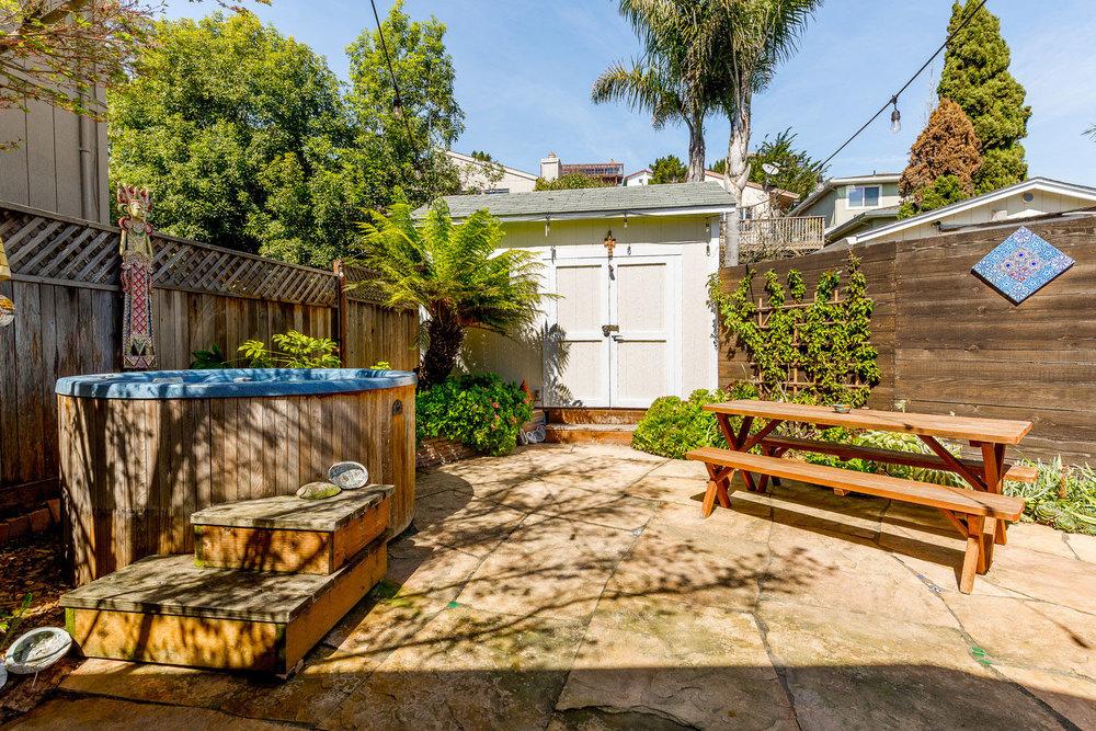 Backyard Santa Cruz Realtors