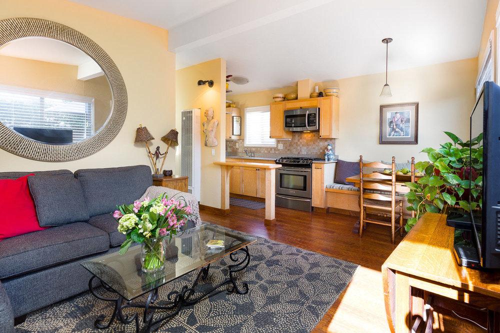 Open Floor Plan Santa Cruz Housing