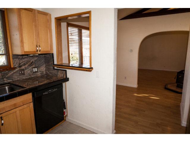 Kitchen and Dining Area Santa Cruz Real Estate