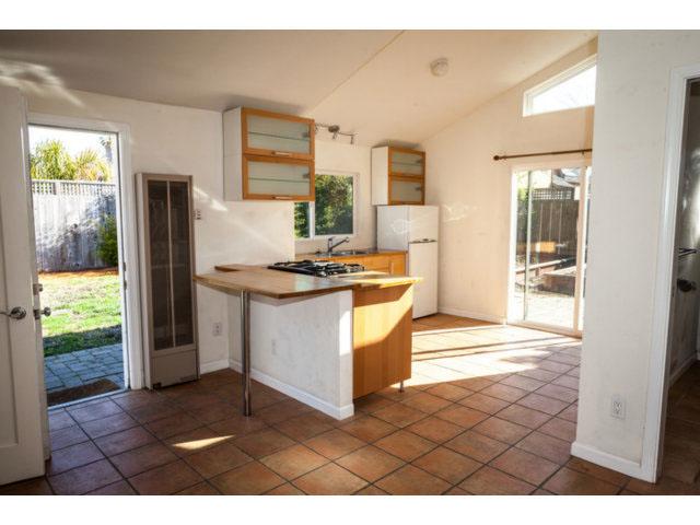 Kitchen and Living Area Santa Cruz Housing