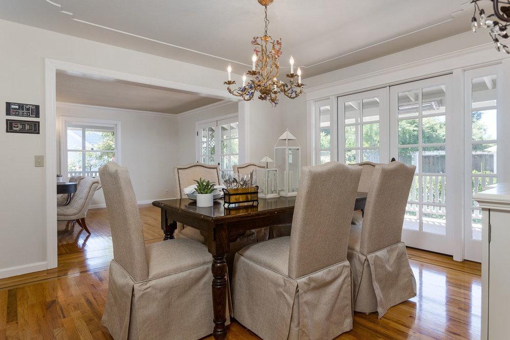 Formal Dining Room in Santa Cruz Homes for Sale