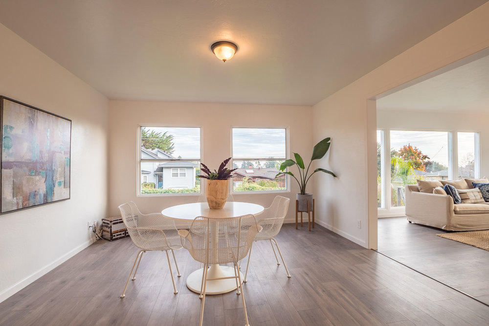 Remodeled Three Bedroom Upper Westside House with ADU in Santa Cruz, California.  Presented by Sam Bird-Robinson, Realtor in Santa Cruz