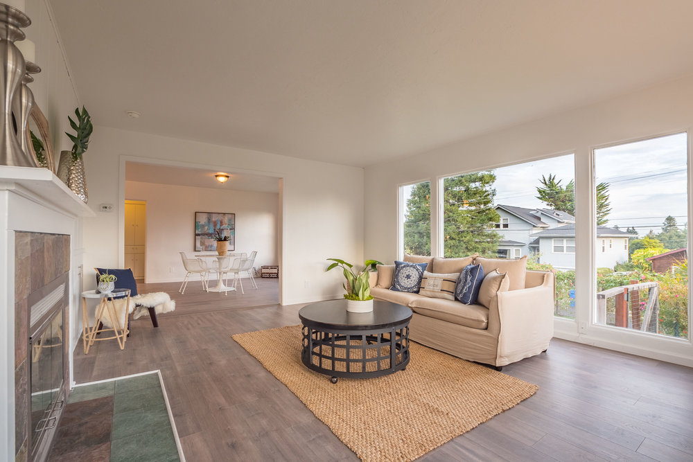 Remodeled House Upper Westside Santa Cruz