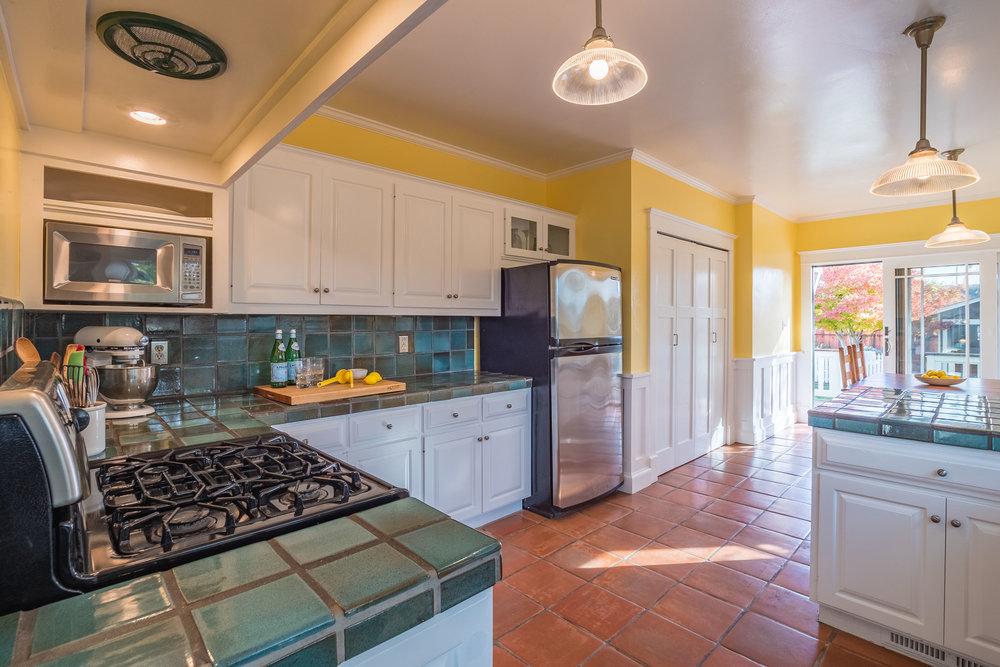 Updated Kitchen in Santa Cruz Home