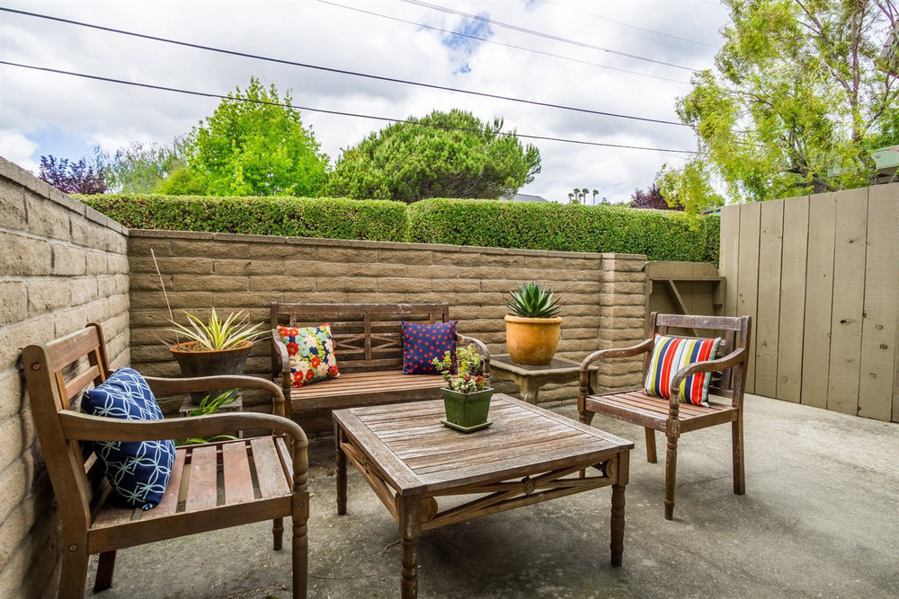 Spacious Patio Realtor Santa Cruz