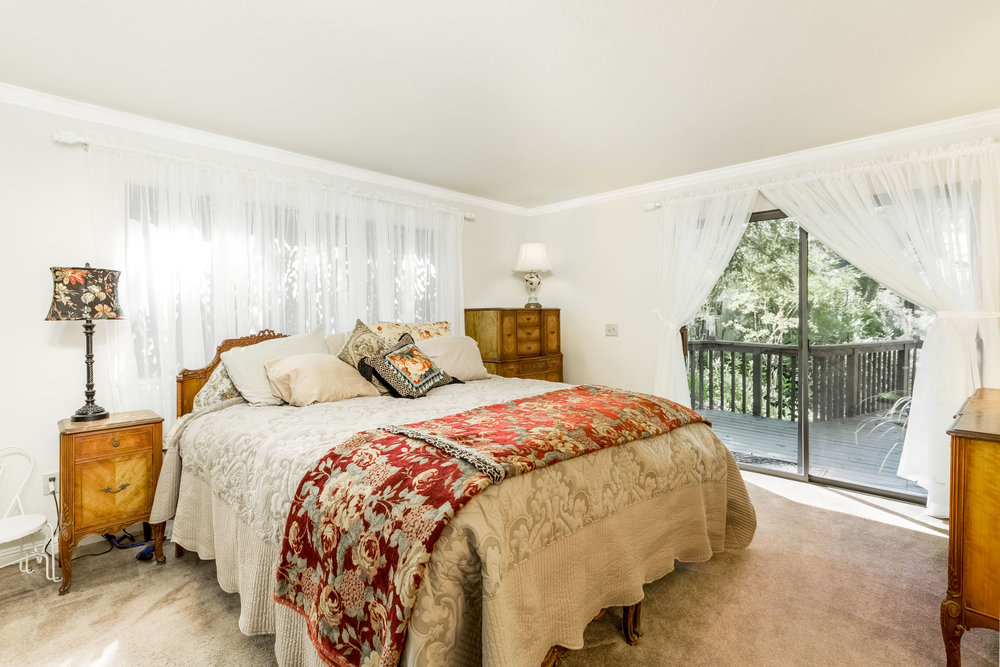 Master Bedroom Santa Cruz Realtor
