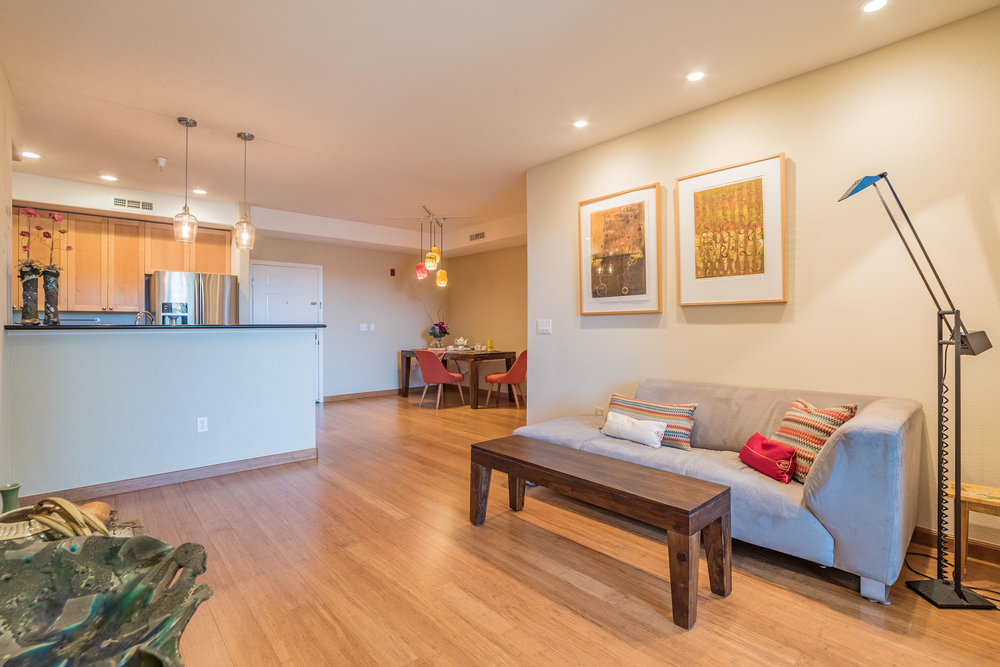 Open Floor Plan Silicon Valley Condo