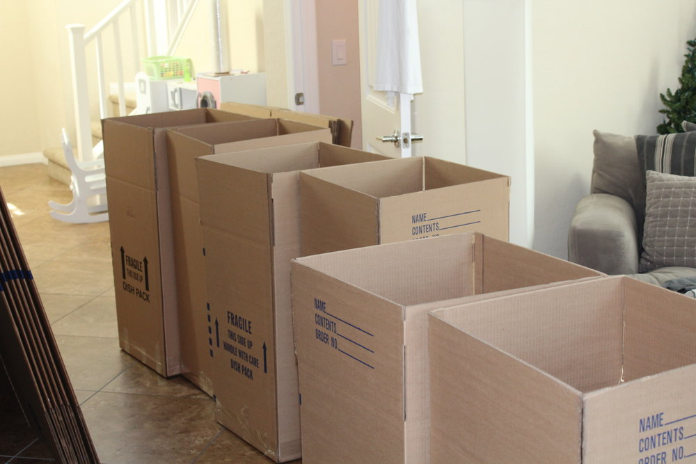 Moving Boxes - Getting Organized When You Pack