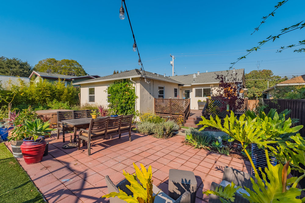 Backyard Patio Real Estate Agents Santa Cruz