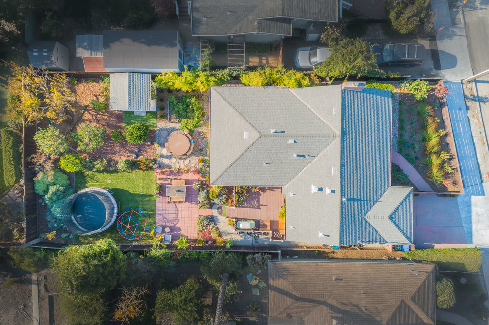 Home for Sale in Santa Cruz, California with Large Landscaped Ya