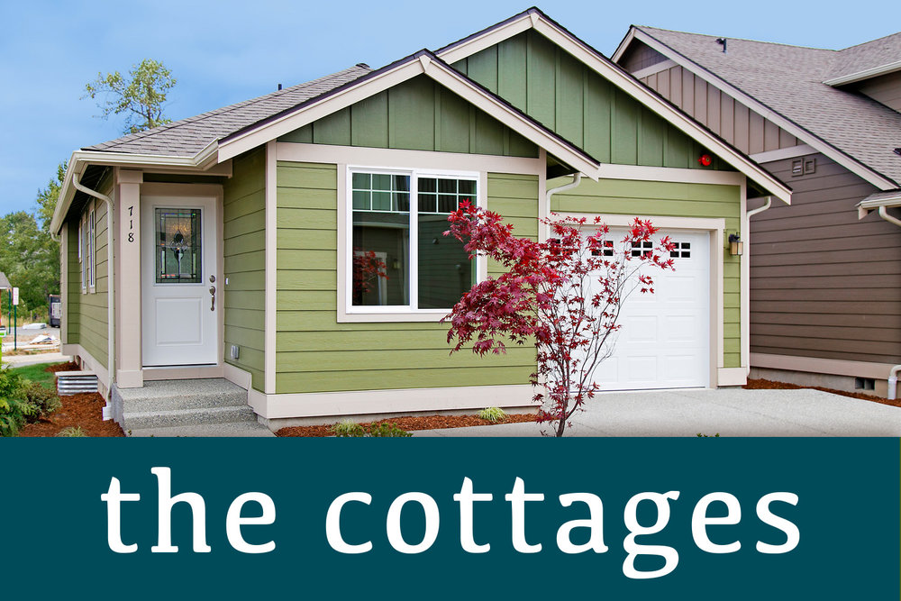 The Cottages  is one three new home communities that make up the TRIO at cordata neighborhood.