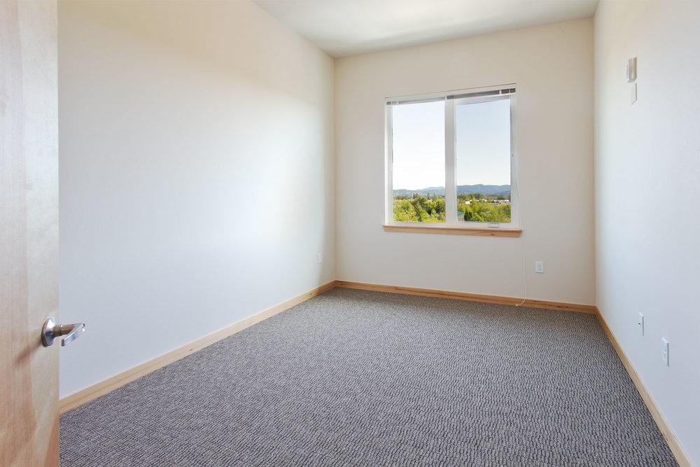 2-Bedroom Plan: Bedroom 2