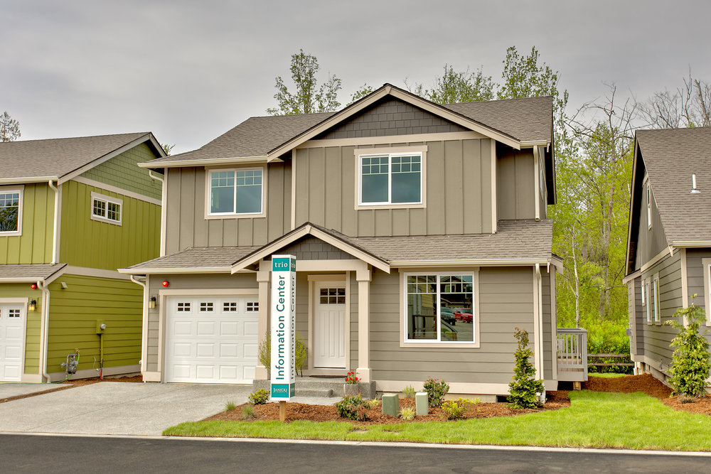 Now Selling - 106 new homes at TRIO in Bellingham's Cordata neighborhood.