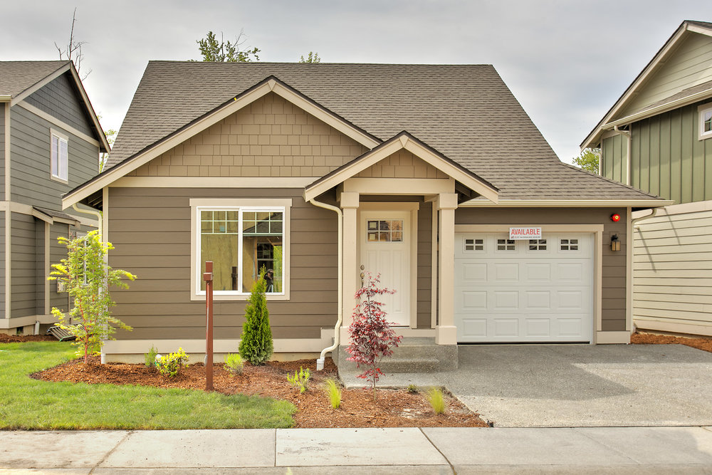 One of the several home plans available at TRIO| Cottages .