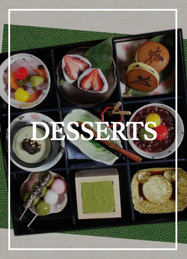 Toku Desserts Menu