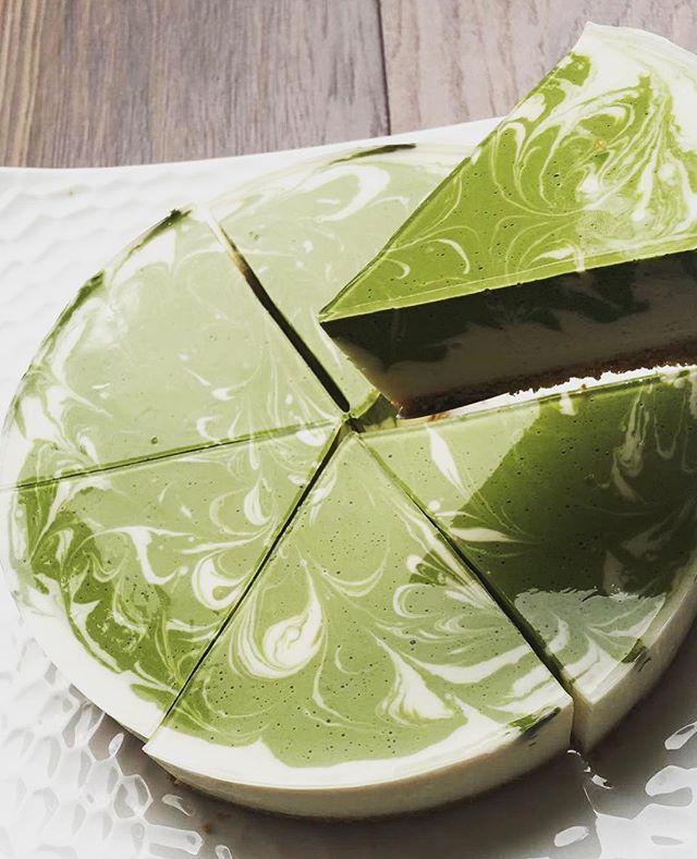New Uji Matcha Cheesecake now available at Toku