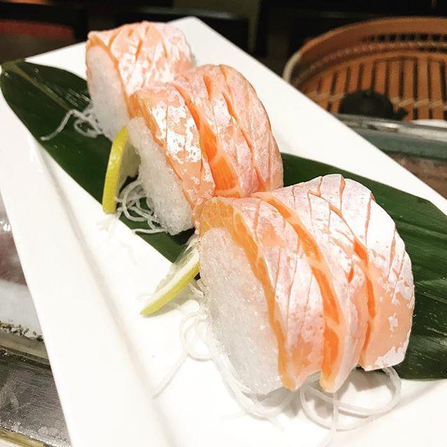 Salmon Toro Sashimi @ Toku