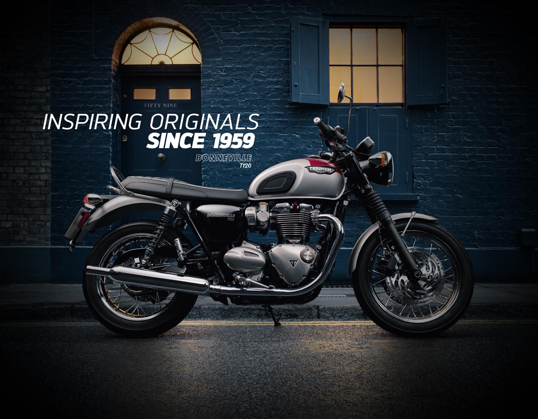 2016 Triumph Bonneville Launch Portfolio