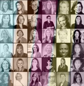 """Imagen promocional de """"Women in Fintech"""", iniciativa de la asociación  Innovate Finance."""
