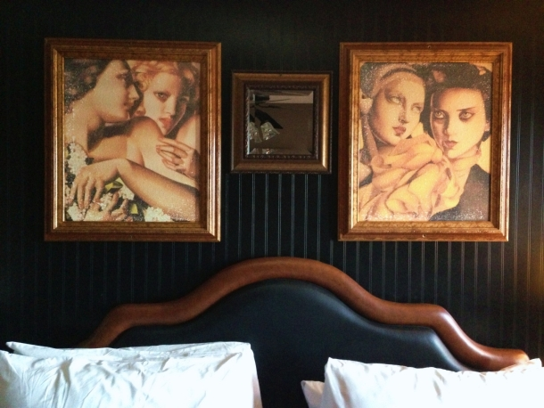 artisan hotel closet las vegas margaret dimando nakednhungry naked n hungry above the bed lempicka art naked and hungry.jpg