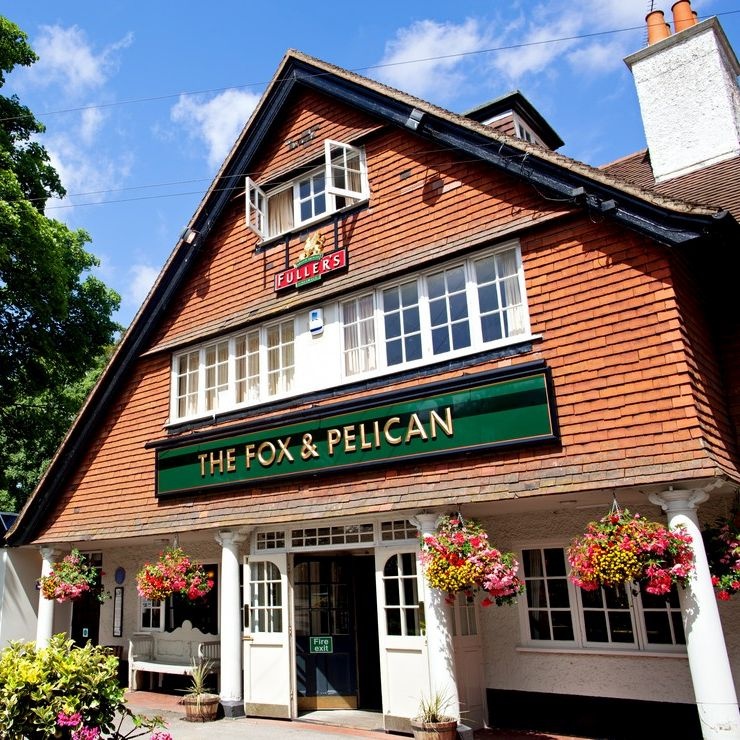 A wonderful community pub, The Fox & Pelican is very much part of village life in Grayshott. Serving great locally sourced food and outstanding cask ales, you're always assured a friendly welcome and service with a big smile. Surrounded by areas of outstanding natural beauty - The Fox & Pelican is the hub of village life.