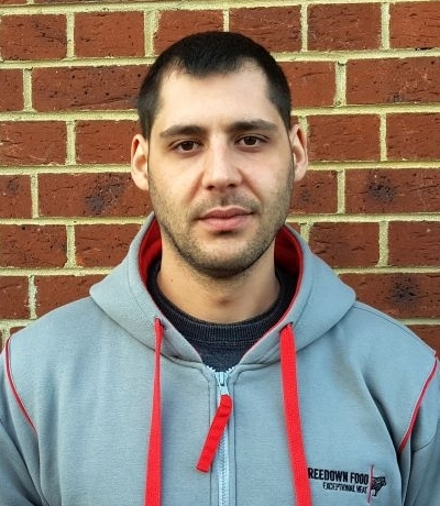 Alex Nikolov - Warehouse Manager