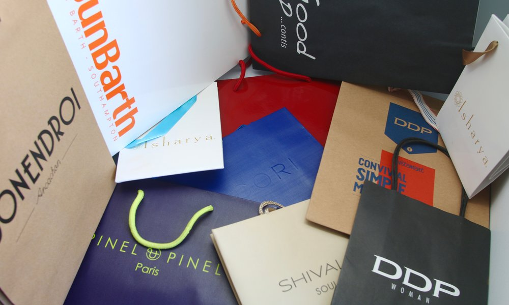 Copy of Shopping bags