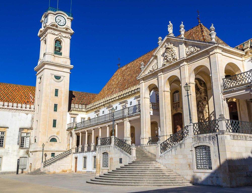 Universidade de Coimbra.