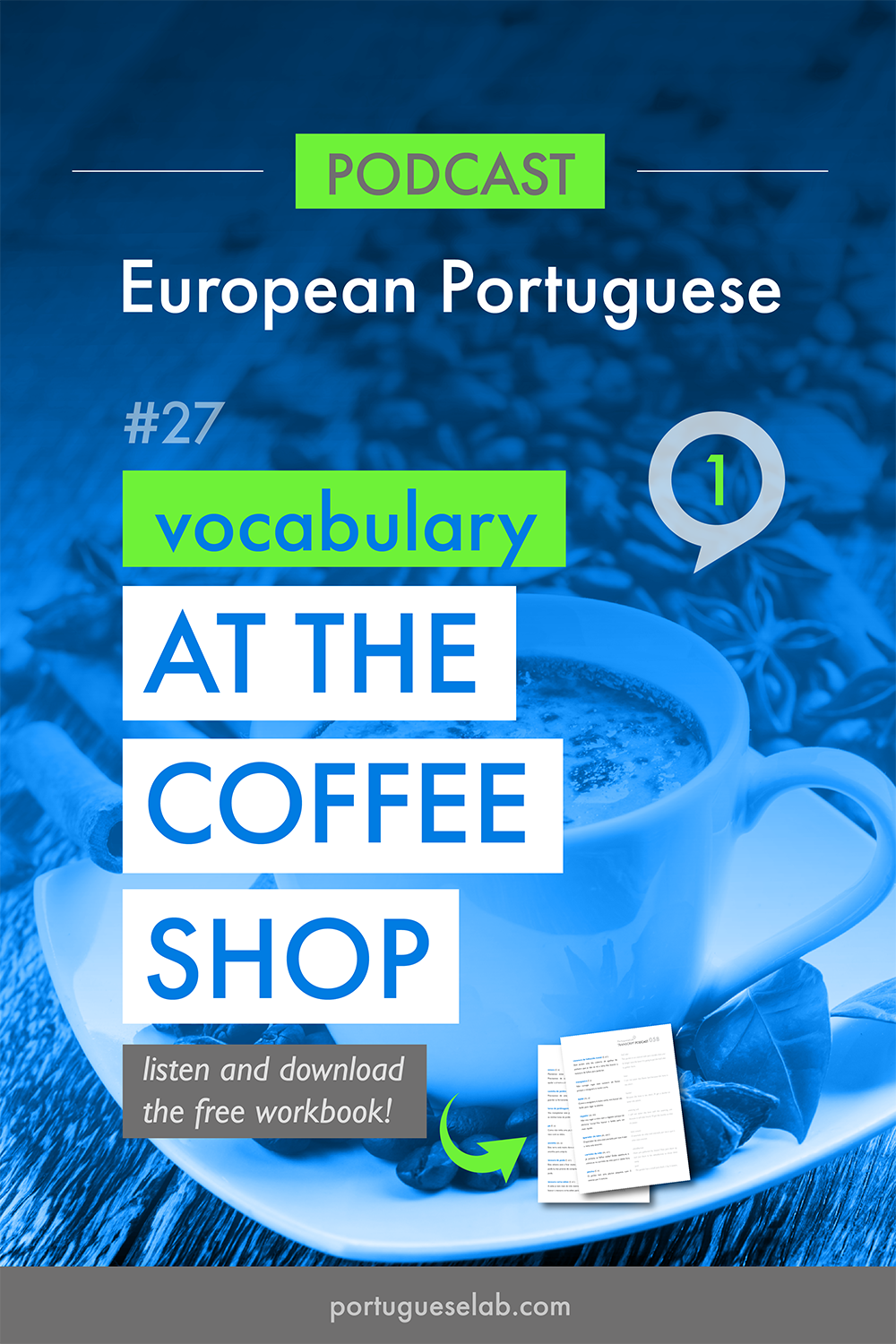 Portuguese Lab Podcast - European Portuguese - 27 - At the coffee shop - vocabulary 1.png