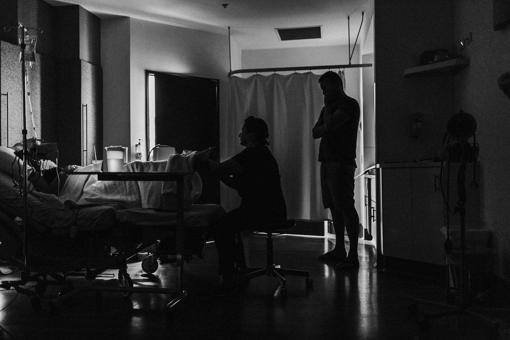 Birth silhouette