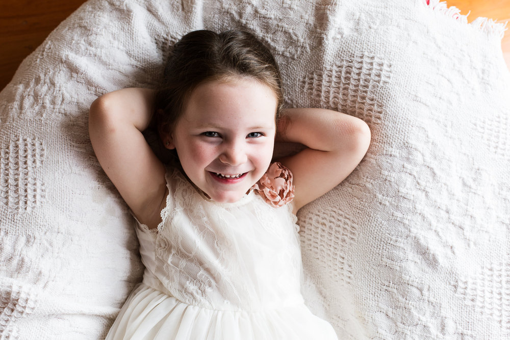 young girl during family session in home shoot on location at family home on the Mornington Peninsula