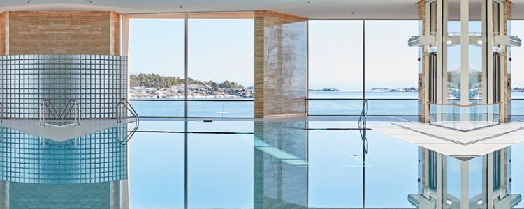 Kuva: Mikael Lindén, Projektiuutiset. Regatta Spa -kylpylä Hangossa.