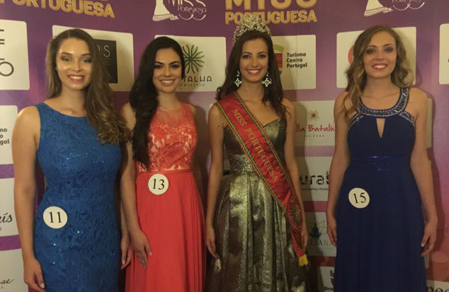Contestants with numbers 11 (Ana), 13 (Monica) and 15 (Filipa) made the top 3 in Elegance.