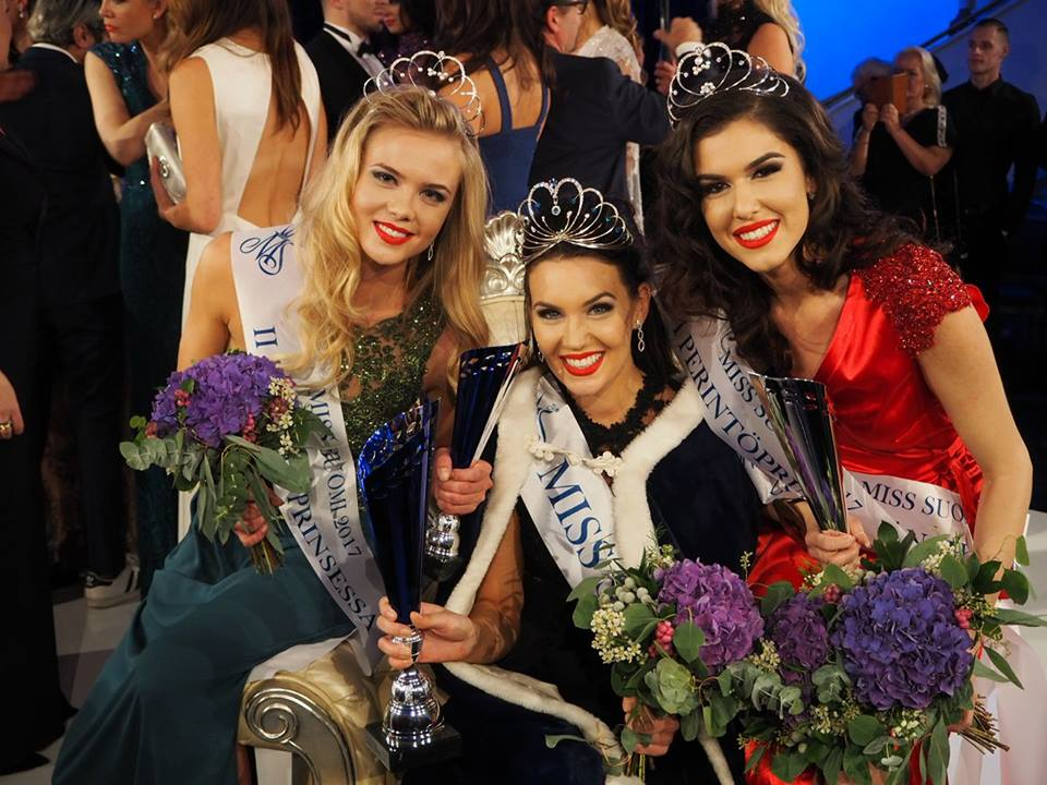Miss International Finland, Miss Universe Finland, Miss World Finland
