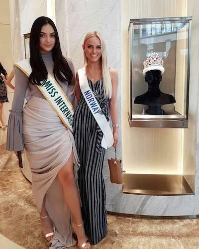 The reigning queen meets Norway