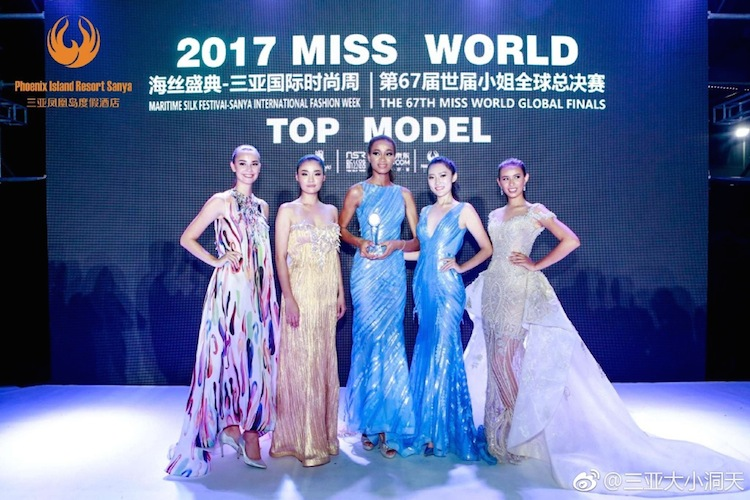 Croatia (3rd), Thailand (2nd), NIGERIA, China (4th), Indonesia (World Designer Award)