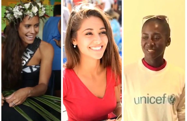 Cook Islands, France and British Virgin Islands are among the sem-finalists of Beauty With a Purpose 2017 in Miss World.
