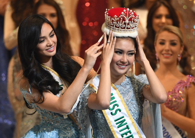 """From Philippines to Indonesia: in Tokyo, the GB Grand Slam leader (Philippines) crowns a """"soon to be"""" (Indonesia) pageant top 10 powerhose."""