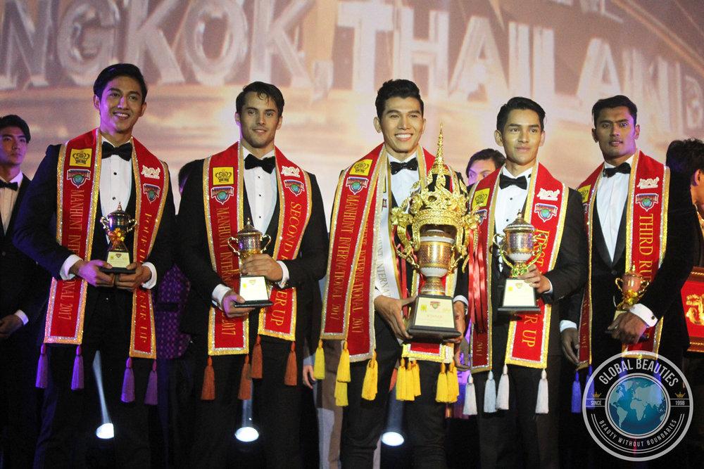 Indonesia (5th), Lebanon (3rd), Vietnam (Winner), Thailand (2nd) and Sri Lanka (4th)