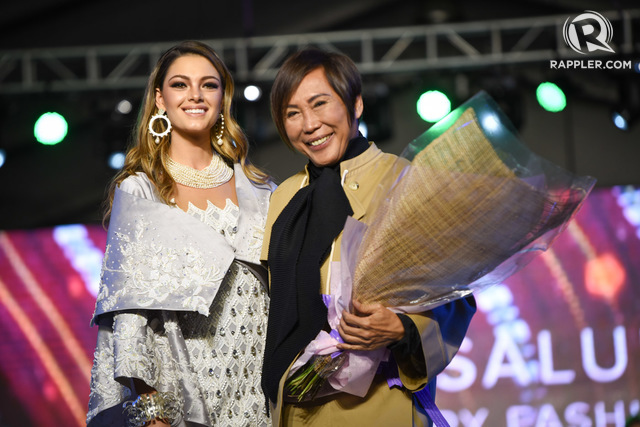 Miss Universe with Renee Salud