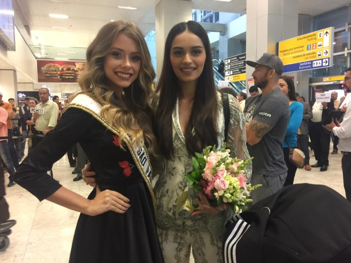 Welcome to São Paulo, welcome to Brazil, Miss World!!