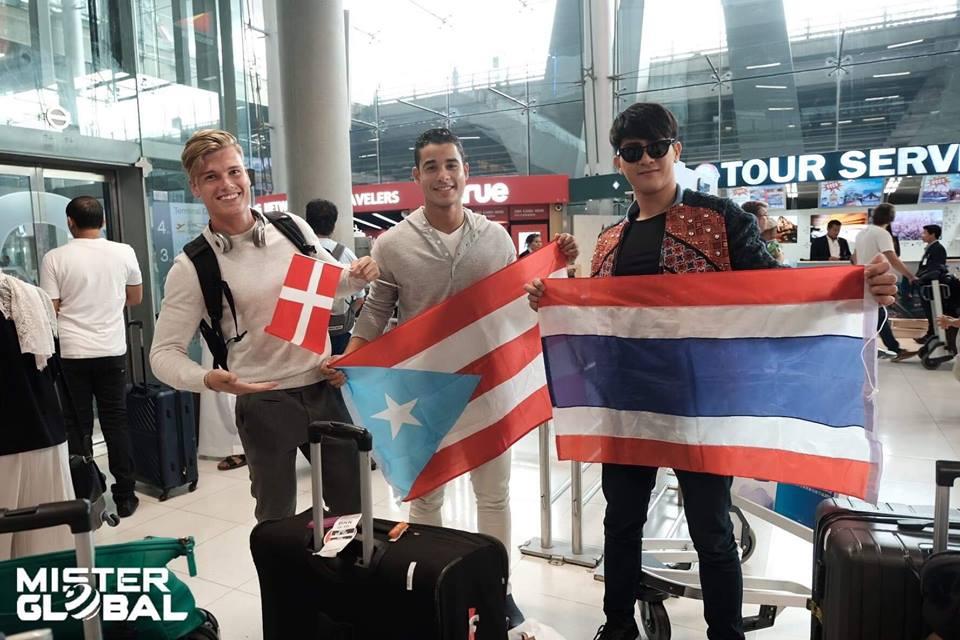 Denmark, Puerto Rico, Thailand