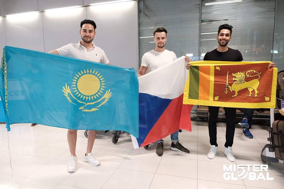 GOING GLOBAL: The delegates from Kazakhstan, the Czech Republic and Sri Lanka were some of the first to arrive